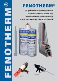 Fenosol fenoflex Joint produits d/'entretien