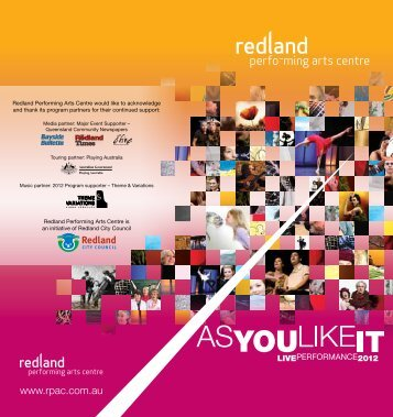 to download the 2012 Performance Program - Redland Performing ...