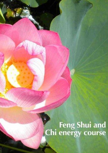 Feng Shui and Chi energy course - Simon Brown