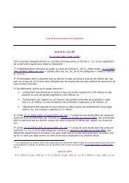 Code de la construction et de l'habitation Article R. 111 ... - LexisNexis