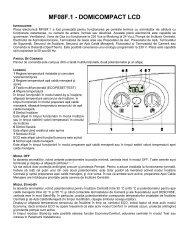 MF08F.1 - DOMICOMPACT LCD - Ferroli