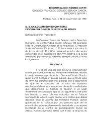 recomendacinnmero: /99. - Comisión de Derechos Humanos del ...