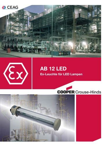 AB 12 LED - Cooper Crouse-Hinds