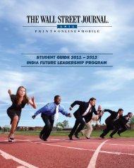 India Future Leadership Program Student Guide - Wall Street ...