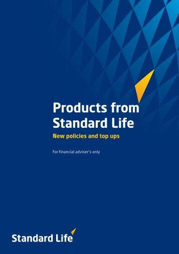 Products from Standard Life - BestAdvice.ie