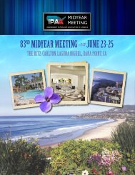 83rd Midyear Meeting June 23-25 - Independent Petroleum ...