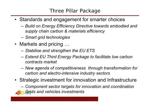 Planetary Economics: - Centre International de Recherche sur l ...