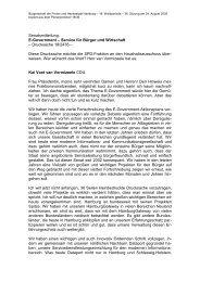 E-Government – Service für Bürger und Wirtschaft - Politikschmiede