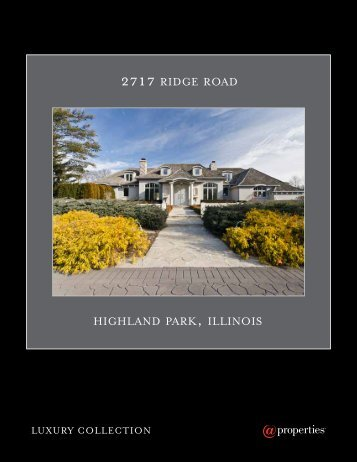 2717 RIDGE ROAD HIGHLAND PARK , ILLINOIS - Properties