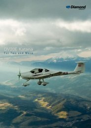 DV20E Katana - Diamond Aircraft