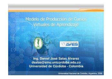 Modelo de Producción de Cursos Virtuales - Aves.edu.co