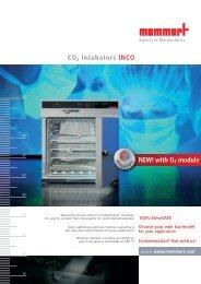 Memmert CO2 Incubators INCO - achats-publics.fr
