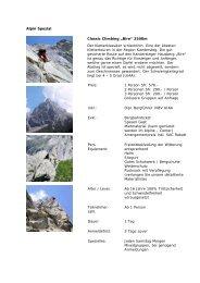 "Alpin Spezial Classic Climbing ""Bire"" - Bergsteigen-Kandersteg"