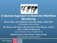 A General Approach to Real-time Workflow Monitoring - Pegasus