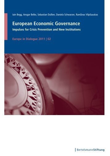 European Economic Governance - Bertelsmann Stiftung