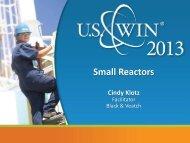 Small Reactors - US Women in Nuclear