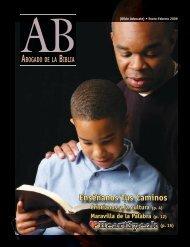 Enséñanos Tus Caminos - The Bible Advocate Online