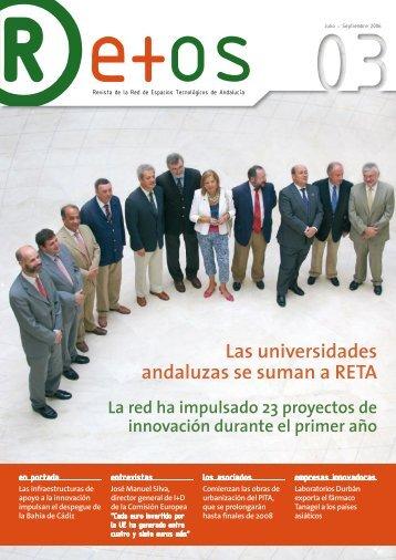 Las universidades andaluzas se suman a RETA - Congreso RETA ...