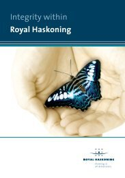 Integrity Peoplebusiness ENG - Royal Haskoning
