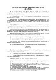 The Protection of Children from Sexual Offences Act, 2012 - Govt. of ...
