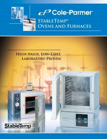 StableTemp® Ovens and Furnaces - Cole-Parmer