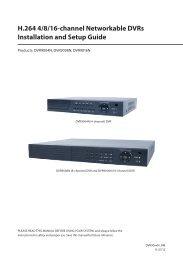 DVR Manual - Supercircuits Inc.