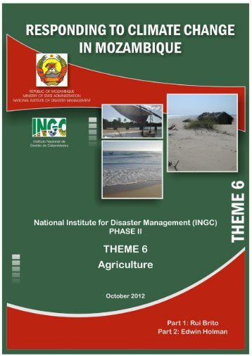 Theme 6 Agriculture ENG.pdf - Africa Adaptation Programme