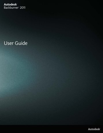 User Guide - Autodesk