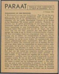 Paraat nr. 5 - Vakbeweging in de oorlog