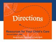 Resources for Your Child's Care - New England Serve