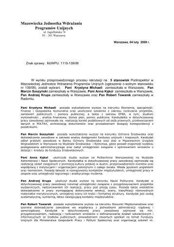 Mazowiecka Jednostka Wdrażania Programów Unijnych