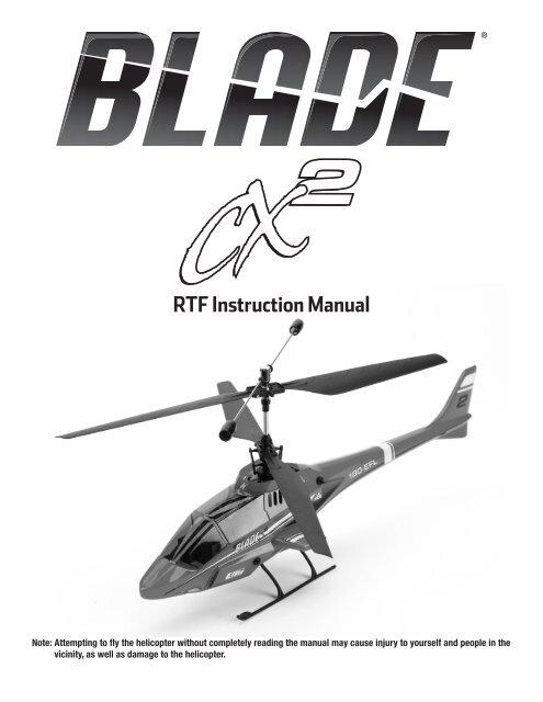 Blade CX2 Inner shaft Main gear