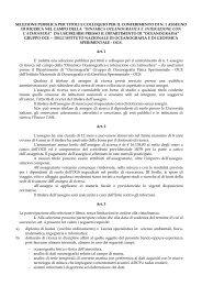 selezione pubblica per titoli e colloquio per il conferimento di ... - OGS