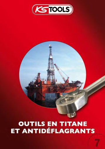 KSTOOLS outils en titane & antidéflagrant - Mesure 2000