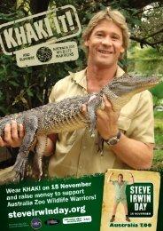 Download Event Poster - Australia Zoo
