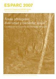 Actas del 13 Congreso EUROPARC-España. Áreas protegidas
