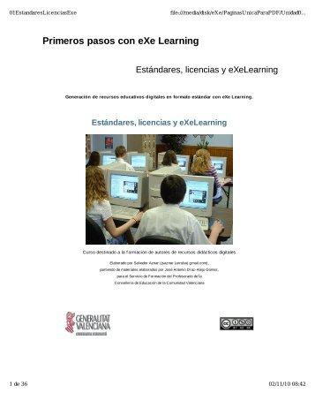 Primeros pasos con eXe Learning - Cefire