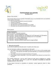 Novembre 2012 - Bureau virtuel de la CSSMI - Commission scolaire ...