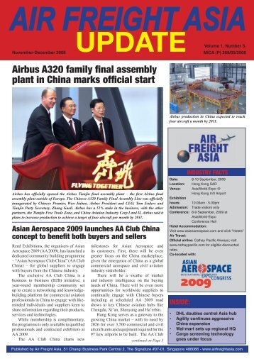 air freight asia update