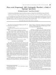 Physa acuta Draparnaud, 1805 (Gastropoda: Physidae): a ... - SciELO