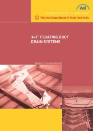 Floating Roof Drain System