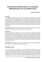 El Manual Escolar y la Cultura Profesional de los Docentes - Revista ...