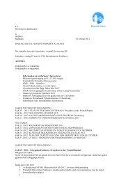 Innkalling og saksliste onsdag 7 mars 2012 - Arendal Havn