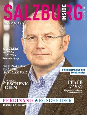 Ausgabe 5 - November - Salzburg Inside - Das Magazin
