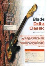 Blade Delta Classic - Gitarzysta VI 06 - FX-Music Group