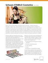 Schwan-STABILO Cosmetics Case Study - X-Rite