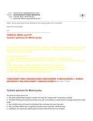 VMAX SHO Hot Sheet indd - Yamaha