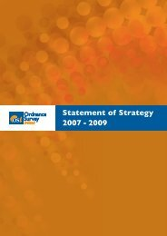 OSi Strategy Statement 2007 - 2009 - Ordnance Survey Ireland