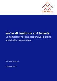 We're all landlords and tenants - Common Equity New South Wales