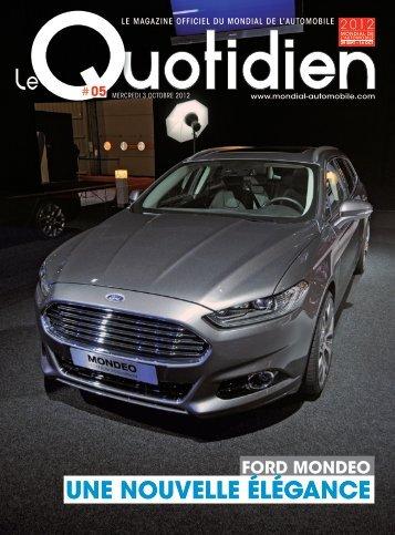 Télécharger le Quotidien numéro 5 - Mondial de l'automobile
